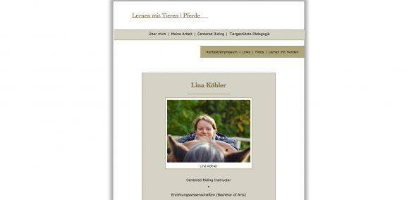 Lina Köhler - Lernen mit Tieren
