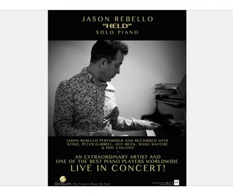 Out to Lunch Konzertplakat Jason Rebello