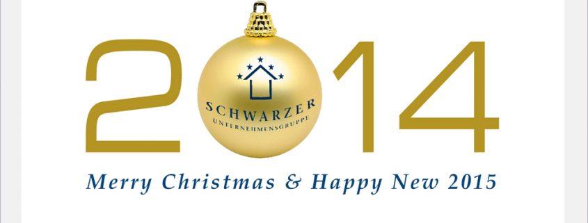 Weihnachtsdesign Schwarzer Unternehmensgruppe