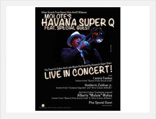Out to Lunch Konzertplakat Havanna Super Q