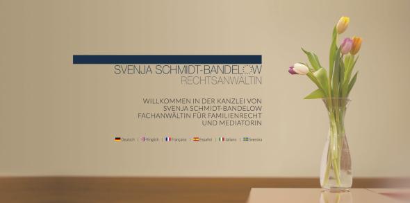 Anwältin Svenja Schmidt-Bandelow Websitekopf