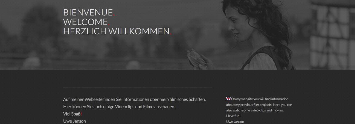 Uwe Janson Websitekopf
