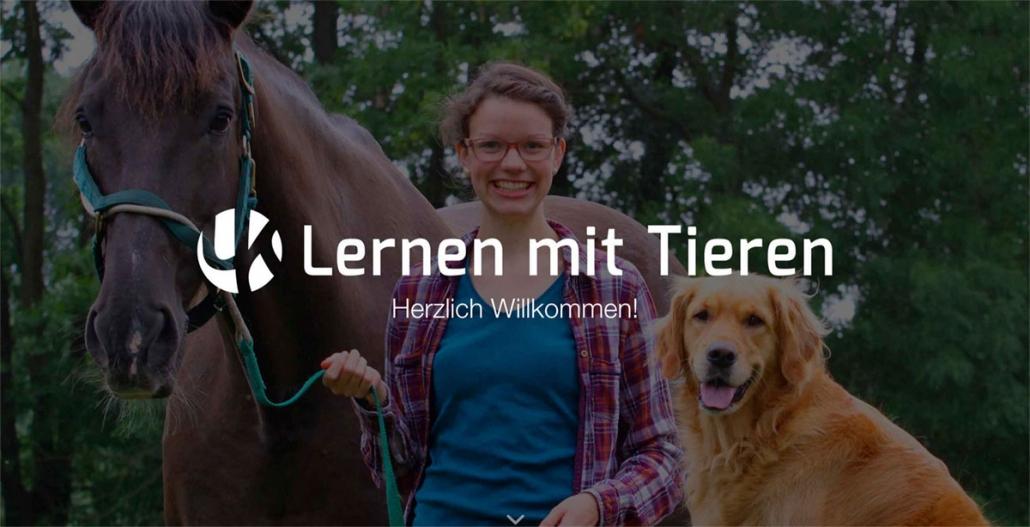 Lernen mit Tieren Websitekopf